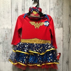 Baby Wonder Woman costume.